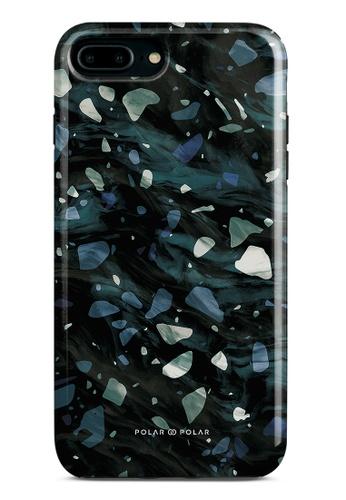 Polar Polar grey Nordic Terrazzo Gem Dual-Layer Tough Case Glossy For iPhone 8 Plus/7 Plus 2CAC5AC54BE5F0GS_1