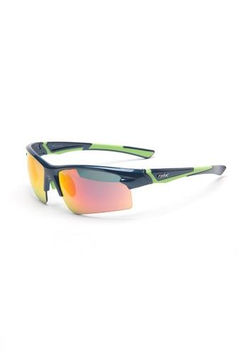 rydac green Spurs Sports Sunglasses 302CDGL1704E60GS_1