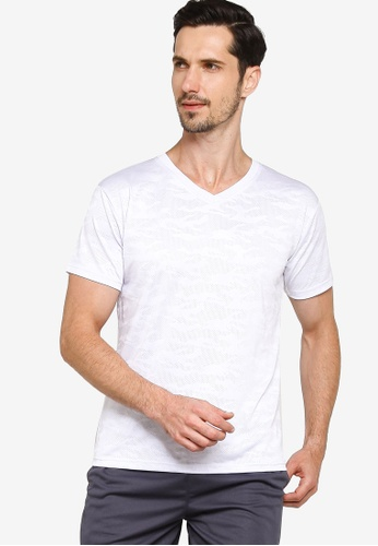 Fidelio white Dry-Fit Camou Active Tees AEB72AAB618314GS_1