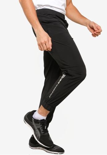 361° black Sports Life Sports Cropped Pants 55FFDAA25AB346GS_1