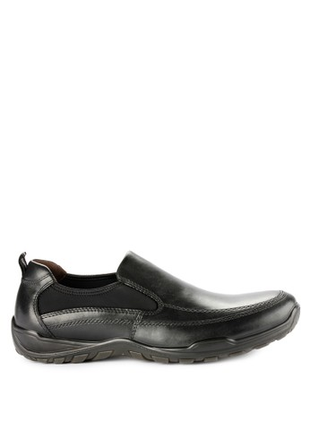 Hush Puppies black Conova Slip On 982C2SH2604F17GS_1