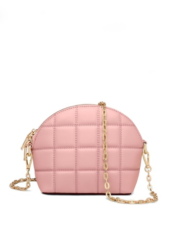 Twenty Eight Shoes pink VANSA Fashion Lingge Chain Crossbody Bag VBW-Cb4028 E5973ACC776A3EGS_1
