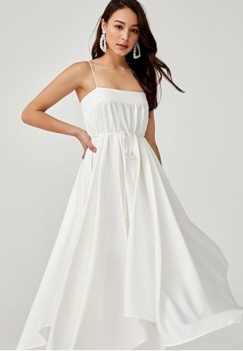 Love, Bonito white Sabria Trapeze Maxi Dress BBD80AAC25B718GS_1