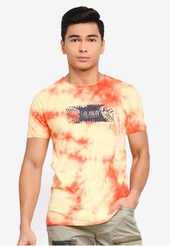 LC Waikiki yellow Printed Short Sleeve T-Shirt 06A99AA371F303GS_1