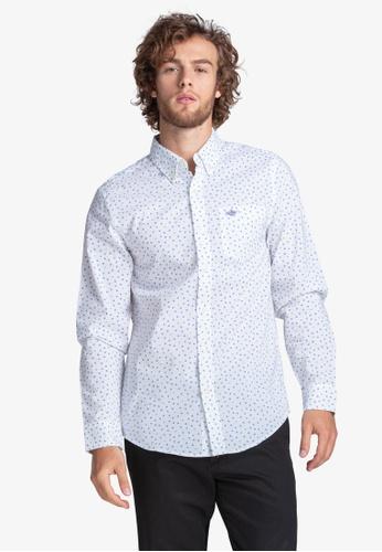 Dockers white Dockers Signature Comfort Flex Shirt Men 52661-0587 2DC93AA131639FGS_1