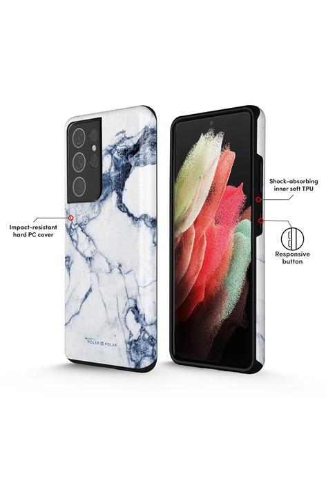 Polar Polar Indigo Vase 靛藍古瓶 Samsung Galaxy S21 Ultra 5G 防摔手機殼 (光面)