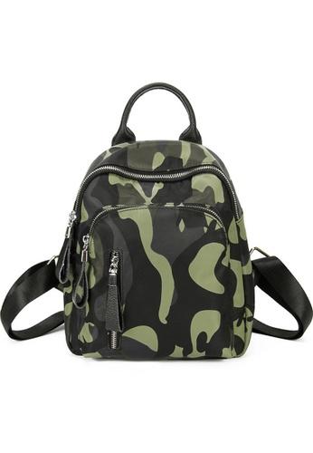 Twenty Eight Shoes green VANSA Nylon Oxford Backpacks VBW-Bp8214 4F017ACA351AEBGS_1