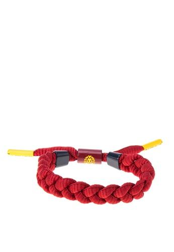 Rastaclat red Shoelace Bracelet: Ambrose Jewelry RA072AC0KK2FPH_1