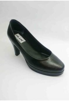 Executive Helga Closed, Semi-Pointed Toe Pumps half-inch Plat form