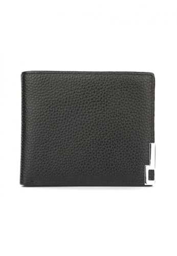 Jackbox black Dante Premium Leather Men's Wallet 851 (Black) JA762AC83UJCMY_1