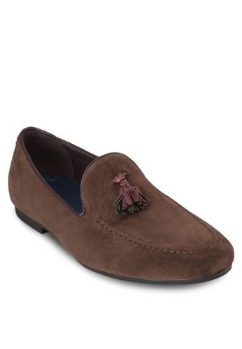 流蘇麂皮樂福鞋, 鞋, 船型zalora 衣服尺寸鞋