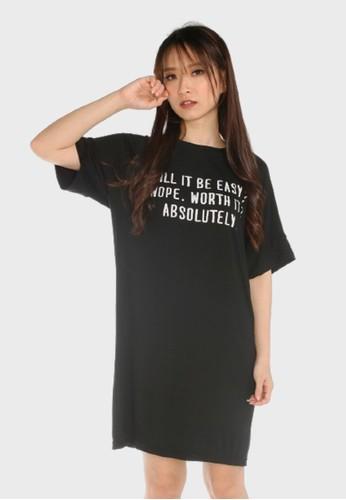GatsuOne black Horiuchi Dress Black 687ACAA2496677GS_1