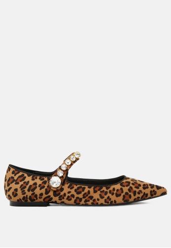 Rag & CO. 褐色 平底芭蕾舞鞋 RCSH1813 6E365SH111EDCEGS_1