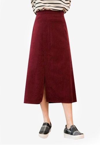 Tokichoi red Open Slit Skirt 732D3AA24C6090GS_1