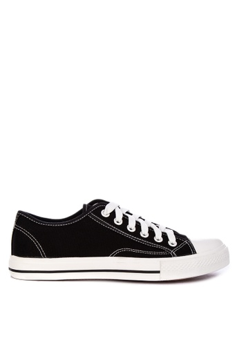 H2Ocean black Calloway Sneakers Lace Up DB4DESHAA0058AGS_1