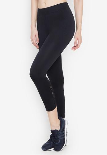 Chictees black Bea Bottom Sports Leggings 18111AA6336108GS_1
