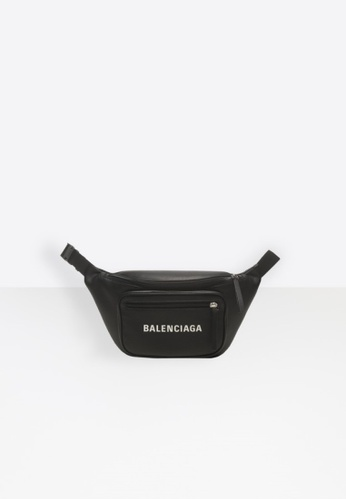 BALENCIAGA black BALENCIAGA EVERYDAY BELT PACK 59194AC368906BGS_1