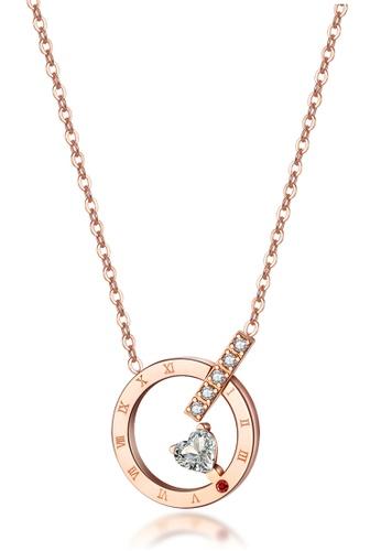 Trendyshop gold Rose Gold Necklace 09343AC79FD869GS_1