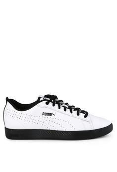 2257e587583 PUMA white Sportstyle Core Smash Women's V2 L Perf Shoes 640D1SHB0D11EDGS_1