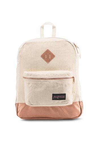 Jansport pink Jansport Super Fx Rose Gold Backpack - 25L 7DFE6AC24F644AGS_1