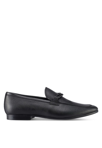 ALDO black Royton Loafers 7C747SH89F5299GS_1