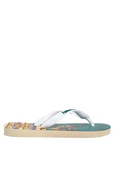 47a40e24f54259 Havaianas grey and multi Lion King Flip Flops CE935SHAF0A27AGS_1