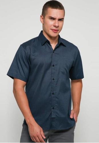 9 to 12 navy Diandra Shirt Kemeja Pria 85870AA984B1ADGS_1