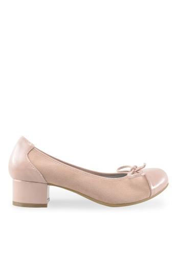 Footspot pink FOOTSPOT - Heels with Patent Cap Toe FO296SH2VITJHK_1