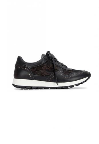 prettyFIT black Lace Sneaker SP1-012 PR787SH0FQPRSG_1