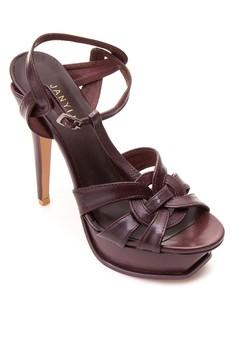 Strapped Platform Heels