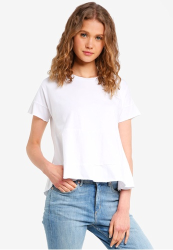 Jack Wills white Abervale Tiered T-Shirt 0E7E4AABF24127GS_1