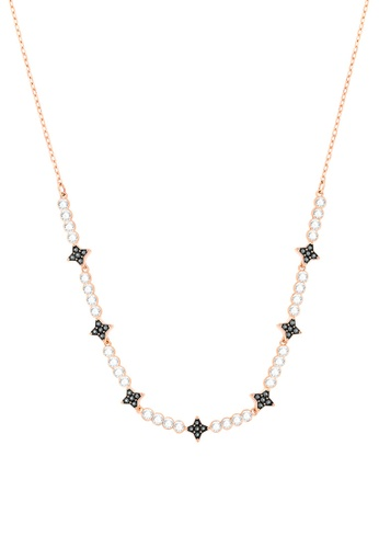 Swarovski black and gold Halve Necklace DE27EAC6816C06GS_1