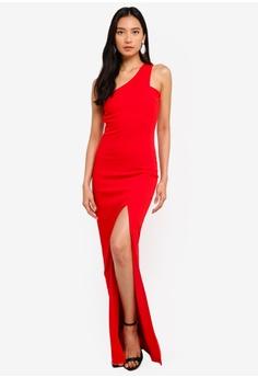 3f2e52555a 35% OFF AX Paris Asymmetric Maxi Dress RM 225.00 NOW RM 145.90 Sizes 8 10  12 14