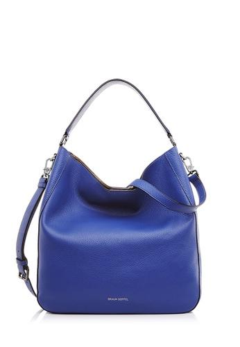 Braun Buffel blue Delia-G Medium Hobo In Greek Blue 48B91AC42AA82AGS_1