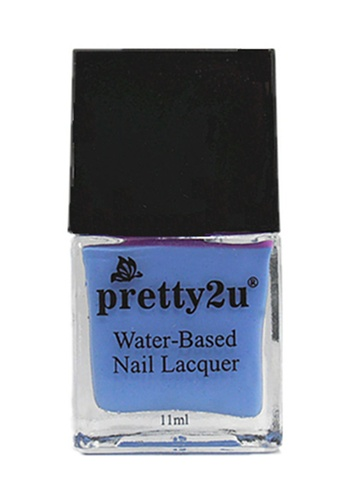 Pretty2u blue Peel Off Water-Based Nail Lacquer 18 PR716BE87EDWMY_1