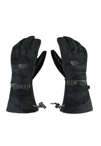 The North Face black TNF M Montana Etip Glove TNF Black Pillow Camo Jacquard Print TH879AC59ECASG_1