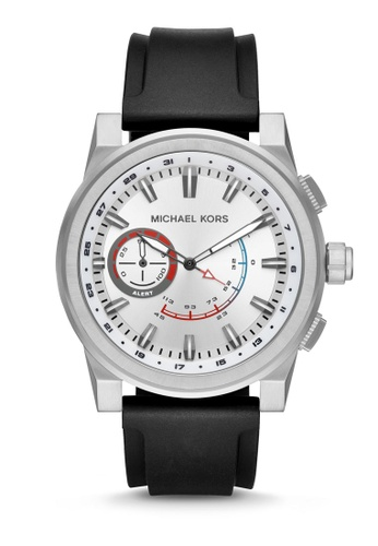 MICHAEL KORS black Michael Kors Grayson Smart Watch MKT4009 7CAB5AC2AF224DGS_1