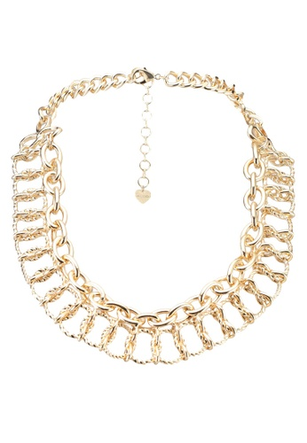 ALDO gold Wiggans Necklace F4B0BACA49C6D9GS_1