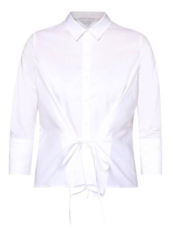 MAGAN 束腰繫帶長袖T-shirt、 服飾、 上衣mag&loganMAGAN束腰繫帶長袖上衣最新折價