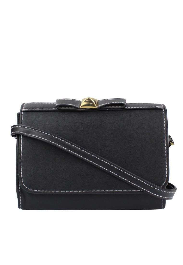 Ribbon Stud Casual/Sling Bag
