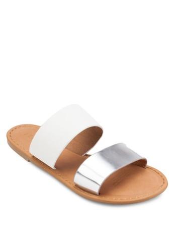 Keesprit 眼鏡ndall 雙寬帶涼鞋, 女鞋, 鞋