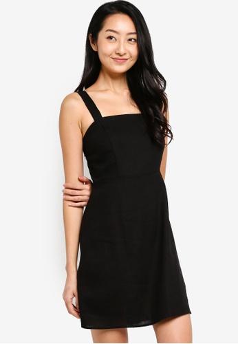 Cotton On black Woven Krissy Dress 7CA49AAC8F09C9GS_1