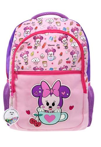 Disney Minnie pink Disney Minnie Mouse Too Cute Kids Backpack (16-Inch) 9298EKCC8E91F6GS_1