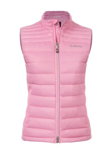 ARCTICA pink WOMEN'S FEATHERLYTE DOWN PACKVEST BAFAFAA3716A25GS_1