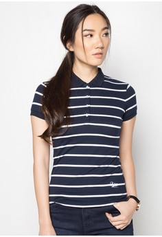 Ladies Stripes Polo Tees