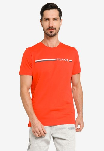 Hummel orange Montreal T-Shirt 89F3AAA916ECC3GS_1