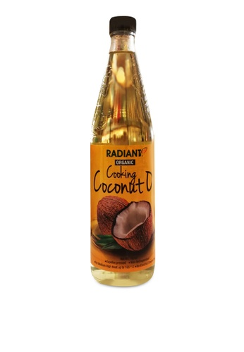 Radiant 【Radiant】Organic Cooking Coconut Oil -750ml FD4DFESD964960GS_1