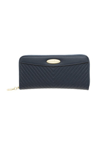 British Polo blue British Polo Dwyne Zipper Wallet E09ABAC073B419GS_1