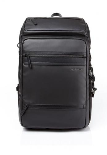 Samsonite Red black Glendalee Backpack F22CFAC6C03E7AGS_1