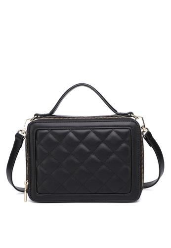 Milliot & Co. 黑色 Polly Top Handle Bag ECE4DACA2DDEA6GS_1